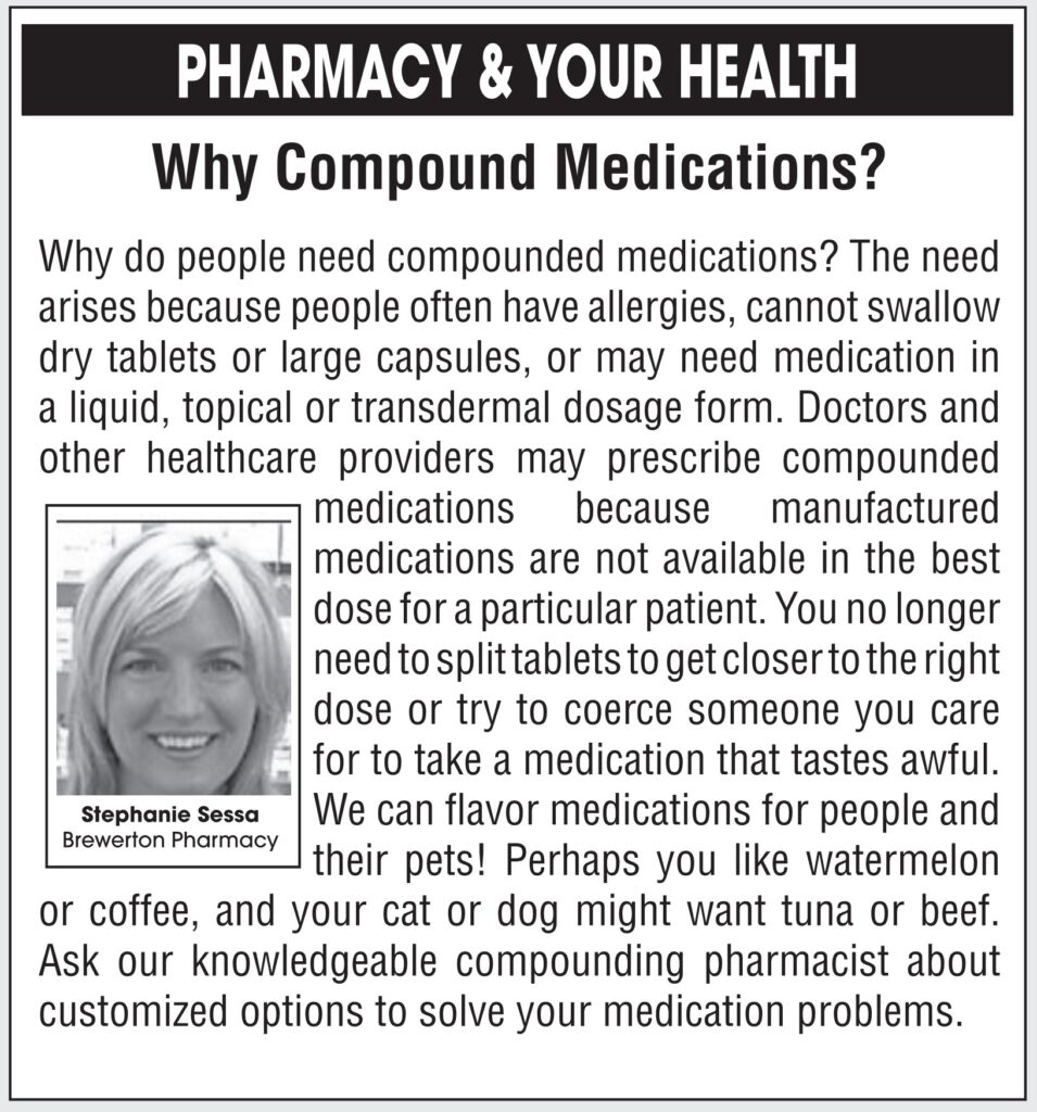 Why Compound Medications?