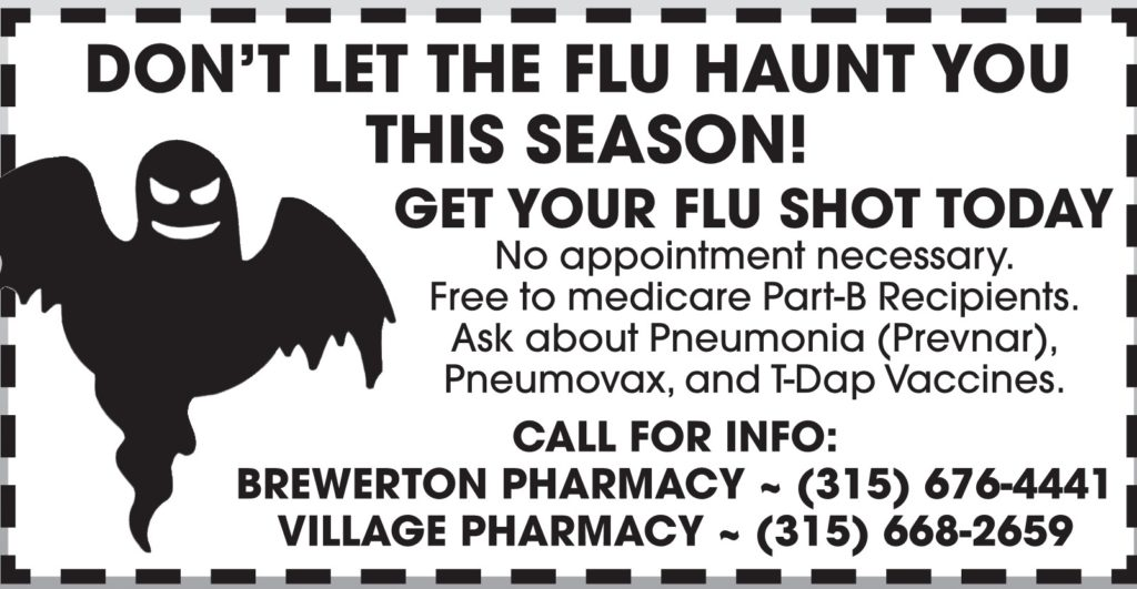 Don't Let the Flu Haunt You, Get Your Shot!