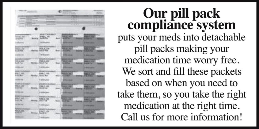 Our Pill Pack Compliance System