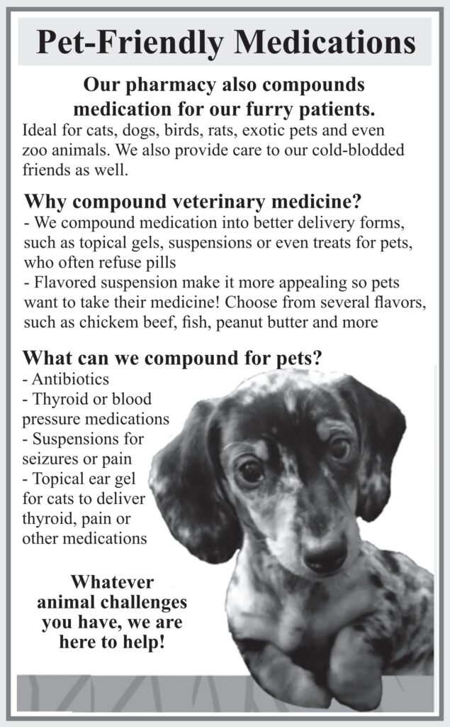 pet friendly medications specifically for your pet